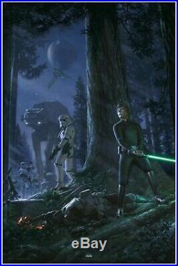 Star Wars Celebration 2019 The Call of Destiny PRINT by Jerry VanderStelt