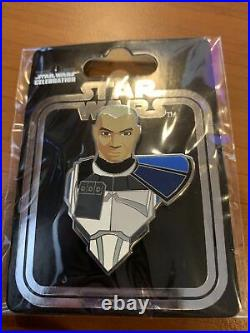 Star Wars Celebration 2020 Pin Helmetless Rex Variant