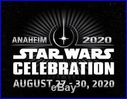 Star Wars Celebration Anaheim 2020 4-day Adult Pass