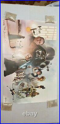 Star Wars Celebration Anaheim Brian Rood A New Hope Art Print