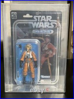 Star Wars Celebration Black Series 40th Anniversary Luke X-Wing Pilot AFA 8.5