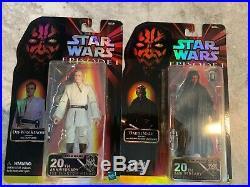 Star Wars Celebration Black Series Phantom Menace Darth Maul Obi-Wan Kenobi Set
