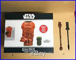 Star Wars Celebration Chicago 2019 Exclusive Rancor Jedi Luke Geeki Tiki New