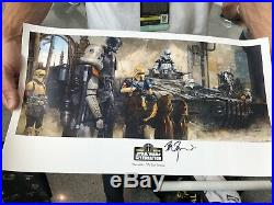 Star Wars Celebration Chicago VIP Poster Lithograph 2019