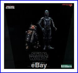 Star Wars Celebration Exclusive 0-0-0 & BT-I ArtFX Kotobukiya 1/10 Figure Statue
