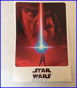 Star Wars Celebration Exclusive 2017 Princess Leia & The Last Jedi Teaser Poster