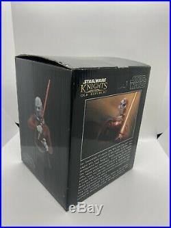 Star Wars Celebration Exclusive Gentle Giant Mini Bust DARTH MALAK #1104 Of 2000