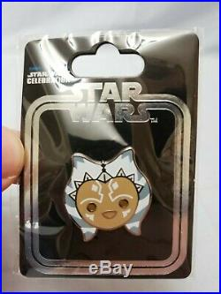 Star Wars Celebration London 2016 Ahsoka Tano Exclusive Metal Enamel Pin NEW