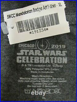 Star Wars Celebration New The Mandalorian Season One XL Tv Promo Shirt