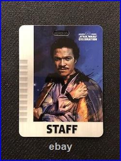Star Wars Celebration Obi-wan Kenobi Glow In The Dark Funko Pop & Staff Badge