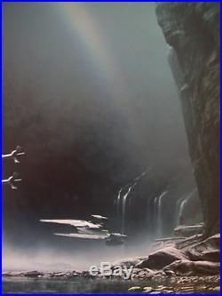 Star Wars Celebration Orlando 2017 Yavin 4 Malcolm Tween Art Print x-wing Rogue