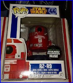 Star Wars Celebration VII 2015 Anaheim Funko Exclusive R2-r9 Star Wars Pop Rare