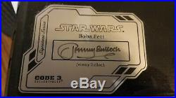Star Wars Code 3 Slave 1 Signature Series Boba Fett Jeremy Bullock Mib