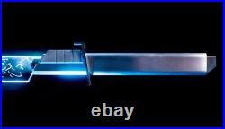 Star Wars Darksaber Metal Hilt With Blade & Electronics Mandalorian Lightsaber LED