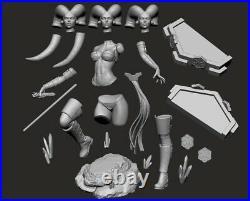 Star Wars Darth Talon Figurine The Mandalorian 3D Printed Garage kit