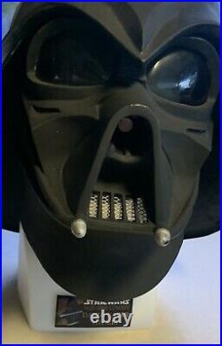 Star Wars Darth Vader Helmet Ralph Mcquarrie Concept Signed Numered