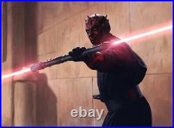 Star Wars Disney Galaxys Edge Darth Maul Legacy Lightsaber Hilt Sealed Dok