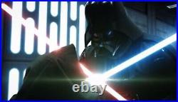 Star Wars Disney Galaxys Edge Darth Vader Legacy Lightsaber Hilt Sealed Dok
