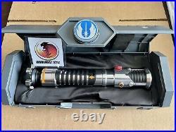 Star Wars Disney Galaxys Edge Obi-Wan Kenobi Legacy Lightsaber Hilt Sealed Dok