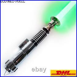 Star Wars ECO Neo Pixel Luke Skywalker Lightsaber Silver Metal Light Replica