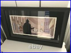 Star Wars Empire Strikes Back McQuarrie Boba Fett Celebration V CV Print Framed