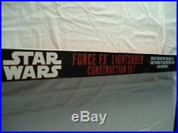 Star Wars Force FX Lightsaber Construction Set Master Replicas 2002-2007 NIB