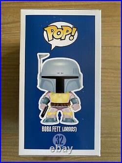 Star Wars Funko POP! #32 Boba Fett DROIDS European Celebration withHard Stack