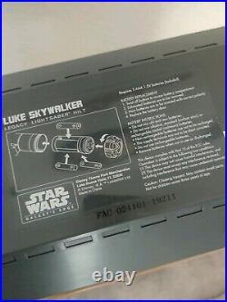 Star Wars Galaxy's Edge Luke Skywalker Legacy Lightsaber (HILT ONLY, NO BLADE)