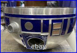 Star Wars Galaxys Edge Batuu Droid Depot R2D2 R2-D2 METAL Mixing Bowl Disney
