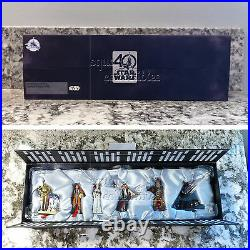 Star Wars IV A New Hope 40th Anniversary Limited Edition 6 Ornament Set Disney