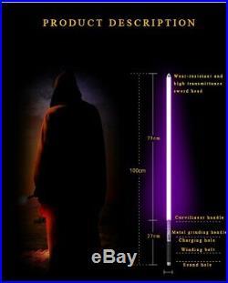 Star Wars Light saber Sword Dueling FX 6 Color Movie Sound Cosplay Props force