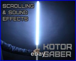 Star Wars Lightsaber KOTOR String Blade Animation Effect
