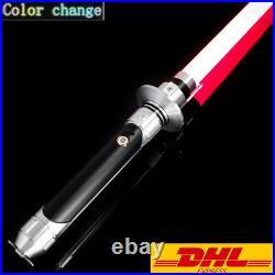 Star Wars Lightsaber Replica Force FX Kanan Jarrus Dueling Metal Handle RGB