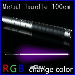 Star Wars Lightsaber Replica Force Heavy Dueling Rechargeable Metal Handle Sword