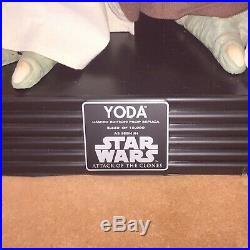 Star Wars Limited Edition Yoda Prop Replica