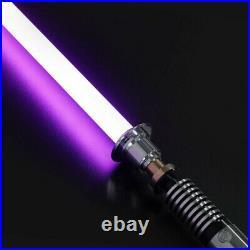Star Wars Luke Skywalker Lightsaber Silver Metal 16 Colors Light Replica Props