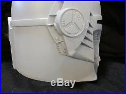 Star Wars Mando Bounty Hunter Mandowar Mandalorian Merc Cosplay Helmet Prop