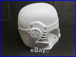 Star Wars Mando Mandowar Mandalorian Cosplay Helmet Prop Powertec 2/3 T Visor