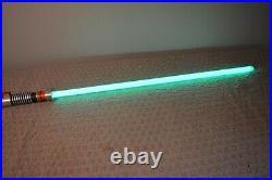 Star Wars Master Replica /2005 Black Series Luke Skywalker Force FX Lightsaber