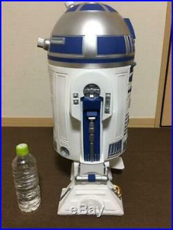 Star Wars / R2-D2 Trash Can Dust box Wastebasket R2-D2wb-06 USED beautiful