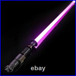 Star Wars Rechargeable New Lightsaber Force Fx Dueling Heavy Metal Handle Hilt