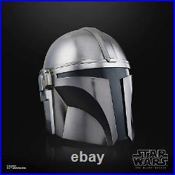 Star Wars The Black Series Mandalorian Premium Electronic Helmet Prop Replica