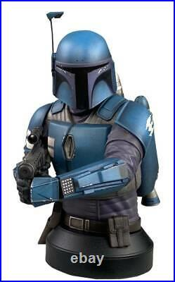 Star Wars The Mandalorian 16 Scale Bust Deathwatch Presell 10/27/21 Disney Hot