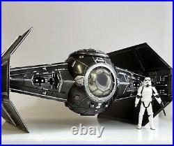 Star Wars Vintage Sith Imperial Tie Fighter Interceptor Black Series Mandalorian