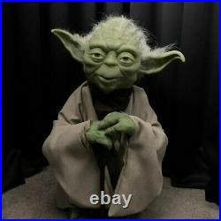 Star Wars Yoda Prop- Life Size Puppet and Completely Posable