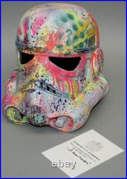 Stormtrooper Helmet STAR WARS + COA (LP EDITS ARTIST)