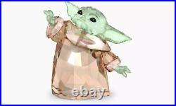 Swarovski Crystal Disney Star Wars The Mandalorian Child Baby Yoda IN STOCK