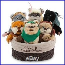 US Disney 2016 Star Wars Ewok Celebration 9 Plush Set of 6 Limited Ed 1000