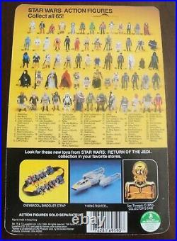 Vintage Star Wars ROTJ Han Solo Bespin Outfit MOC Figure Kenner 65-Back 1983
