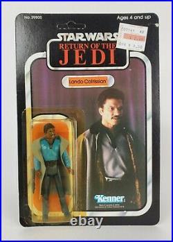 Vintage Star Wars ROTJ Lando Calrissian 77 Back Action Figure Kenner 1983 MOC